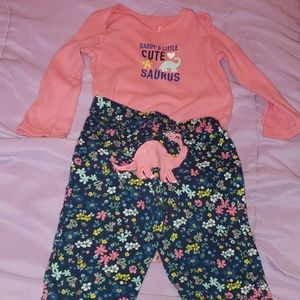 Carter's Daddy's Little cute-a-saurus set